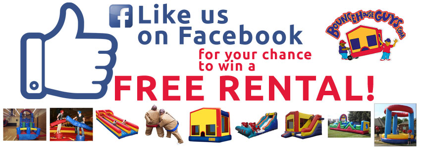 Bounce House Facebook Page Contest