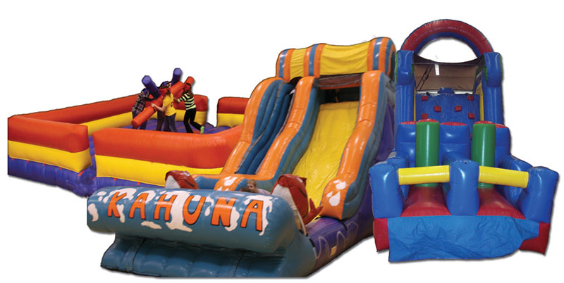 Obstacle Course, Bounce House, Slide Rentals, Indianapolis