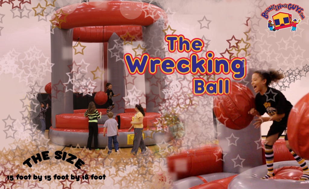 Wrecking Ball Inflatable Party Rental